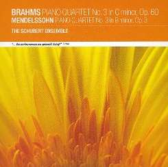 Schubert Ensemble of London - Brahms: Piano Quartet No. 3; Mendelssohn: Piano Quartet No. 3 mp3 album