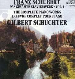 Gilbert Schuchter - Schubert: Complete Piano Works, Vol. 4 mp3 album