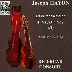Ricercar Consort - Haydn: Divertimenti for 8 voices, Vol. 2 mp3 album