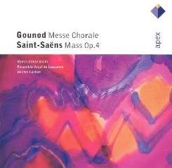 Marie-Claire Alain / Michel Corboz / Ensemble Vocal de Lausanne - Gounod: Messe Chorale; Saint-Saëns: Mass mp3 album